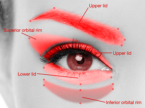 Depth sensor eye diagram